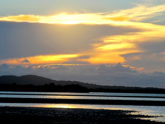 Pôr-do-sol em Baiacu
