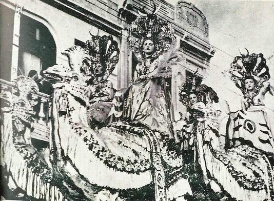 Carro alegórico - Blog Memoria da Bahia